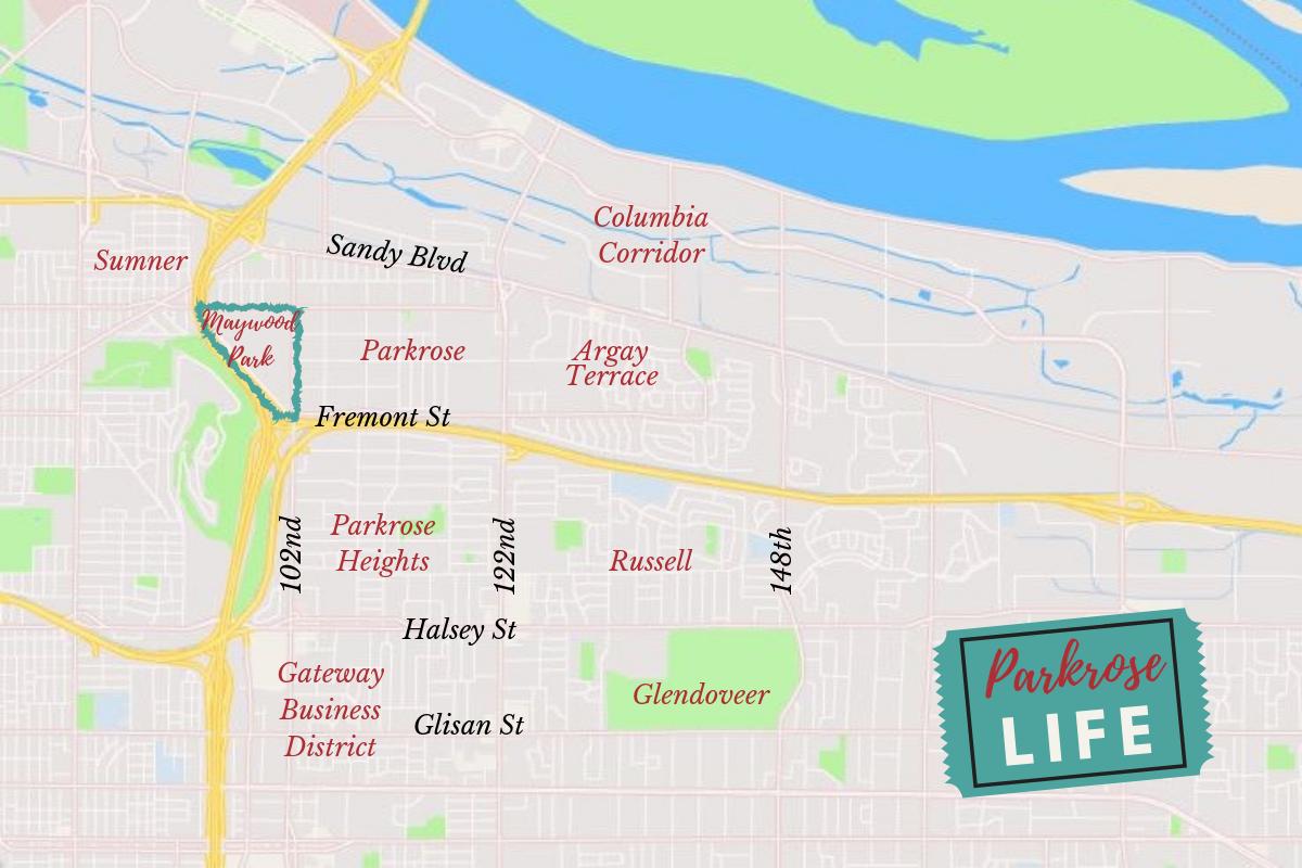 Maywood Park Map
