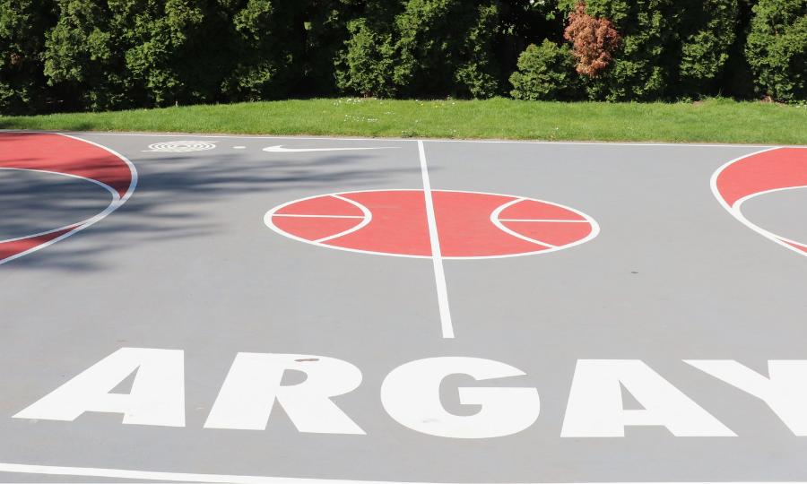 Argay Park Basketball
