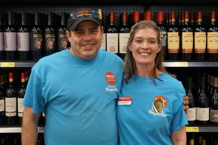 Parkrose Grocery Outlet Chad & Gina Hilker
